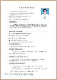 Resume Template Word Download Professional Curriculum Vitae
