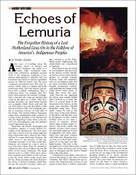 Echoes Of Lemuria Atlantis Rising Magazine Library Beauteous Bear In Hing Reng