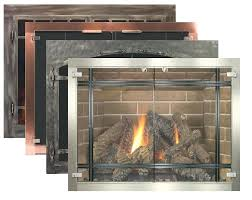 wood burning fireplace glass doors glass fireplace doors by fireplace inc wood burning stove door glass