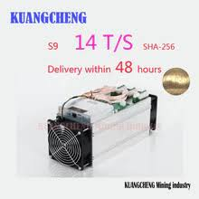 An item that has been used previously. Antminer S9 14t 14000gh S 14th S Bitmain S9 Bitcoin Miner 16nm 1372w Bm1387 Miner Delivery Within 48 Hours Buy Cheap In An Online Store With Delivery Price Comparison Specifications Photos And Customer