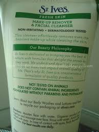 st ives fresh skin makeup remover cleanser