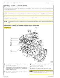iveco workshop manual 46 overhauling the 6 cylinder engine