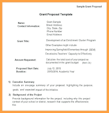 Grant Writing Templates Free Sample Example Format Download Request ...