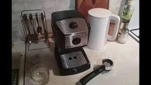 Детальный обзор рожковой <b>кофеварки DeLonghi EC 156</b>.B ...