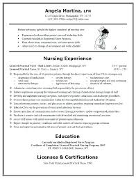 Sample Resume For Lpn Nurse Nurse Example Examples Student Resume ...