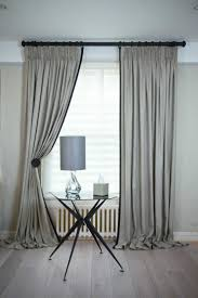 Curtains with Jumbo Piping