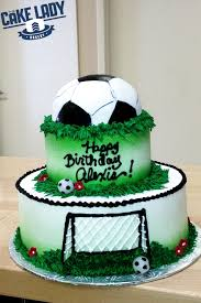 Soccer Birthday Cake  The Cake Lady Sioux Falls