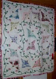 301 best hankie quilts images on Pinterest | Creative, Embroidery ... & Butterfly hankie quilt Adamdwight.com