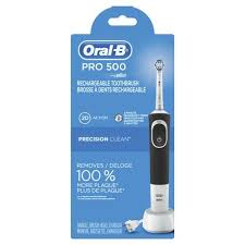 <b>Oral</b>-<b>B Pro 500</b> Power Rechargeable Electric Toothbrush Powered ...