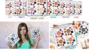 review demo life palettes from em mice phan makeup line you
