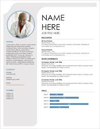 Modern Column Resume Template Ms Word Cv Template Free Download Modern Resume