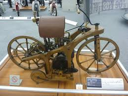 first motorcycle ever made. the first motorcycle ever built . made d