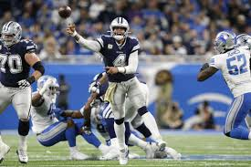 Dallas Cowboys At T Stadium Seating Chart Dak Prescott Dallas Passing Game Will Be A Challenge For