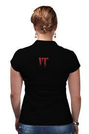 <b>Рубашка Поло &quot</b>;IT&quot; Танцующий клоун #2244180 за 1 ...