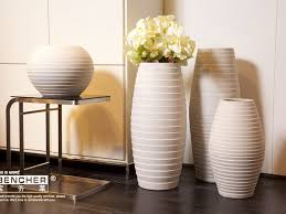 Living Room:Decorative Floor Vases Contemporary Floor Vases With Lights  Large Floor Pots Tall Yellow