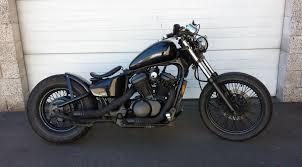 moto custom honda custom bobber spirit e black spirit shadow