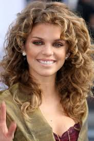 Womens Medium Length Hair Style hairstyle beautiful layered curly hair for women hairstyle 4432 by wearticles.com
