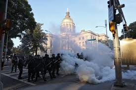 journalists in Atlanta protests ...