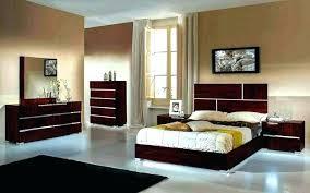 Lacquer Bedroom Furniture Set S White Italian