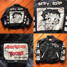 90s betty boop leather i pulled out of the bins