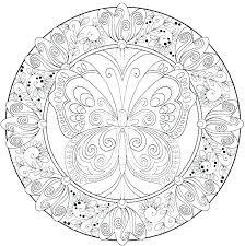 Free Mandala Coloring Pages Lotus Mandala Coloring Page Mandala