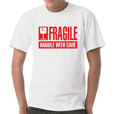 Fragile Handle With Care Fun Spruche Party Spar S Xxl T Shirt