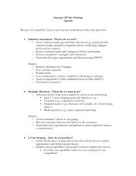 Church Business Meeting Agenda Template Sample A Part Of