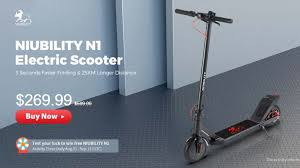<b>NIUBILITY N1</b>, new and cheap <b>electric scooter</b> in launch offer ...