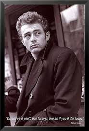 Dream As If You Ll Live Forever James Dean Quote Best Of Amazon FRAMED James Dean Quote Dream As You'll Live Forever