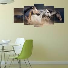 Dekorative Heißer Im Galopp Pferd 3d Acryl Spiegel Wand Aufkleber