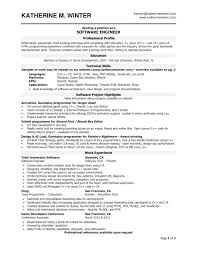Summary Examples For Resume Amazing Java Resume Summary Examples Feat Resume Samples For Software