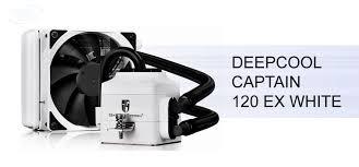 Обзор жидкостного охлажения <b>Deepcool Captain</b> 120 EX White ...