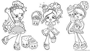 Peppa Mint Shopkins Coloring Pages Collection 19 D Luxury Of