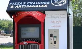 French Vending Machine Mesmerizing Zytronic Provides Instant Pie In TouchScreen Pizza Vending Machine