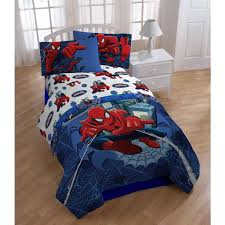 Kids Spider Man Themed Sheets Full Set Pretty Superheroes Character Pa   Diamond Home