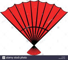 hand fan clipart. red open hand fan icon cartoon clipart