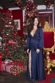 Glendale Americana Christmas Tree Lighting Pregnant Jenna Dewan At The Americana At Brand Annual