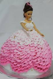Classic Barbie Doll Cake At 8800 Per Cake The Bakers Pte Ltd