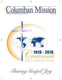 the magazine of the society of st columban