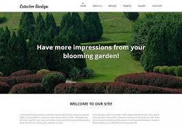 Small Picture Garden Design Moto CMS HTML Template 52193
