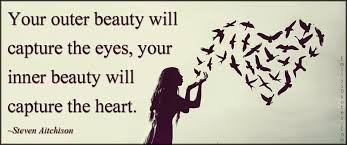 outer beauty quotes like success inner vs outer beauty women hearts love birds