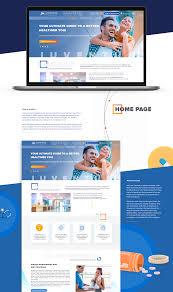 Top Medical Website Designs Redesign For Iuventus Medical Center On Behance