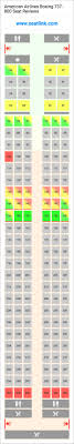 American Airlines Boeing 737 800 Seating Chart Updated