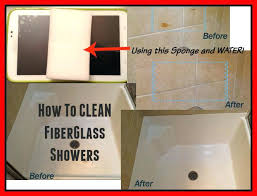how to clean plastic bathtub how to clean fiberglass shower and bathtubs in one step