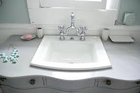 square drop in bathroom sink kohler contemporary looking elegance