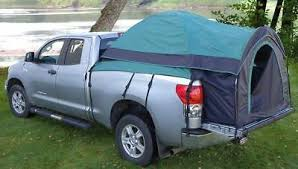 TRUCK BED TENT Camping For Most Full Size Pickup Truck Beds Up To 81 ...