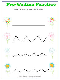 Free Spring Preschool Worksheets - Mess for Less