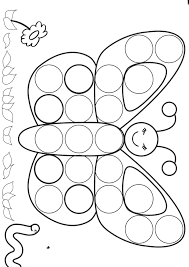 Bingo Dot Marker Coloring Pages Coloring Pages Gotemplates