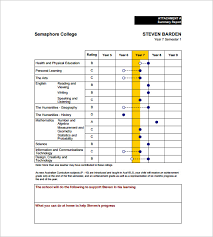 Report Card Template Pdf 26 Progress Report Card Templates Google Doc Pdf Psd Eps Word