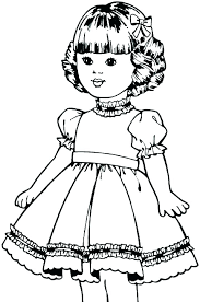 Coloring Pages Of American Girl Dolls Coloring Pages Of Girl Dolls